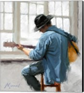 Guitar Player Fine-Art Print