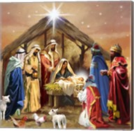 Nativity Collage Fine-Art Print