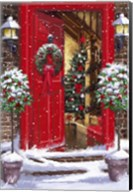 Red Door 1 Fine-Art Print