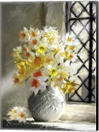 Daffodils At Window Fine-Art Print