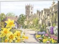 Spring Village Fine-Art Print