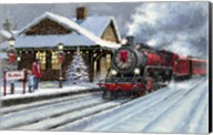 Christmas Station Fine-Art Print