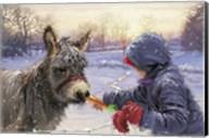 Feeding Donkey Fine-Art Print
