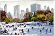 Skating In New York Fine-Art Print