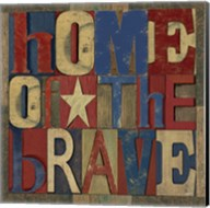 Patriotic Printer Block I Fine-Art Print