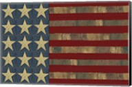 Patriotic Printer Block Flag Fine-Art Print
