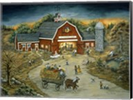 Barn Dance At O'Flannery Farm Fine-Art Print