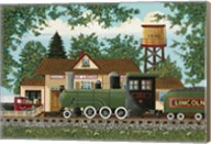 Oak Landing Depot Fine-Art Print