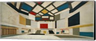Colored Design For The Central Hall Of A University, 1923 Fine-Art Print