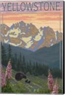 Yellowstone Mountains Fine-Art Print