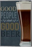 Good People Good Beer Fine-Art Print
