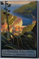 La Rivieria Italienne French Fine-Art Print