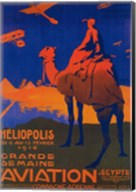 Heliopolis Aviation Ad Fine-Art Print
