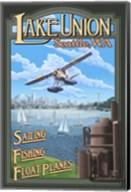 Lake Unions Seattle Fishing Fine-Art Print