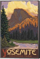 Yosemite National Park Scene II Fine-Art Print