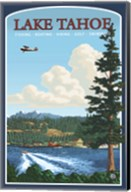 Lake Tahoe Fishing Boating Fine-Art Print