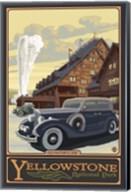 Old Faithful Inn Yellowstone Ad Fine-Art Print