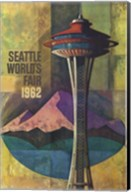 Seattle World's Fair 1962 II Fine-Art Print