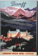 Canadian Pacific Hotel Fine-Art Print