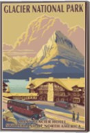 Glacier National Park Ad Fine-Art Print
