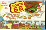 Route 66 Here We Are Fine-Art Print