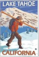 Lake Tahoe California Ski Fine-Art Print