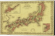Map of Japan Fine-Art Print