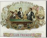 Club Friends Cigars Fine-Art Print