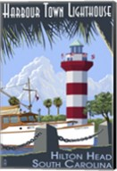 Harbour Town Lighthouse Fine-Art Print
