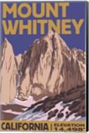 Mount Whitney Elevation Fine-Art Print