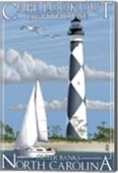 Cafe Lookout Lighthouse Carolina Fine-Art Print