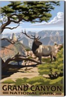 Grand Canyon Park Elk Fine-Art Print