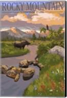 Rocky Mountain Park Moose Fine-Art Print