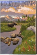 Rocky Mountain Park Moose Fine-Art Print