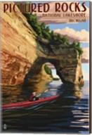Picture Rocks Lakeshore Michigan Fine-Art Print