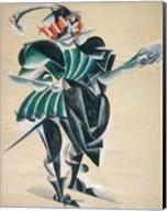 Romeo In A Mask, 1920 Fine-Art Print
