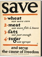 Save and Serve the Cause of Freedom Fine-Art Print