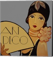 Art Deco Flapper Fine-Art Print