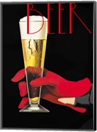 Red Glove Beer Fine-Art Print