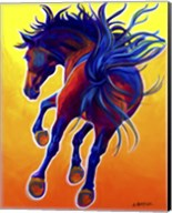 Horse Kick Up Your Heels Fine-Art Print