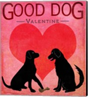 Good Dog Valentine I Fine-Art Print
