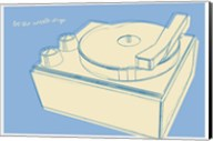 Lunastrella Record Player Fine-Art Print