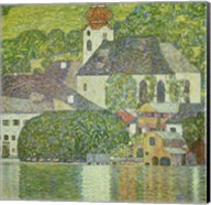 Kirche in Unterach am Attersee - Church in Unterach on Attersee Fine-Art Print