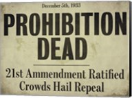 Prohibition Fine-Art Print