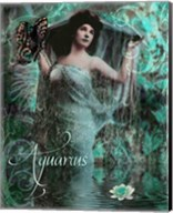 Art Nouveau Zodiac Aquarius Fine-Art Print