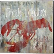 Resturant Seafood III Fine-Art Print