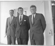 President John Kennedy and Brothers Fine-Art Print
