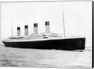 RMS Titantic Departing Southampton Fine-Art Print