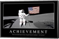 Achievement: Inspirational Quote and Motivational Poster Fine-Art Print