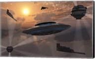 Alien Stealth Technology Fine-Art Print